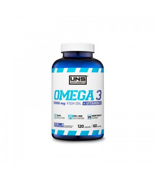 Omega-3 UNS Fish Oil 1000mg 120caps