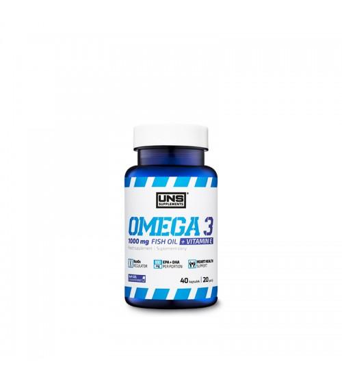 Omega-3 UNS Fish Oil 1000mg 40caps