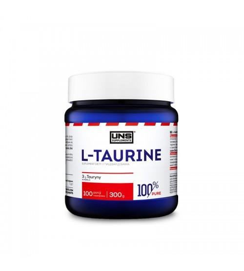 Таурин UNS 100% Pure L-Taurine Powder 300g