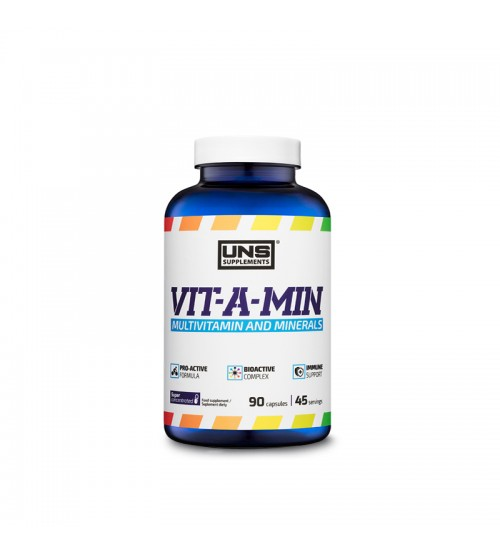 Витаминно-минеральный комплекс UNS Vit-A-Min 90caps